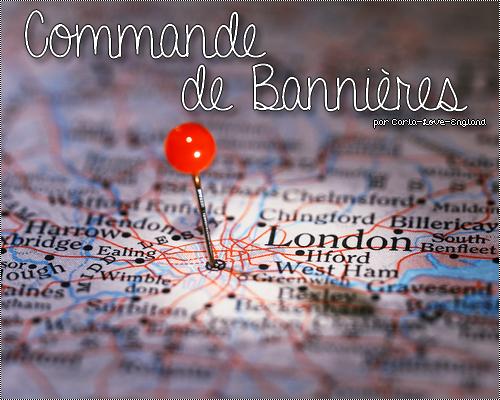 Commande de Bannières