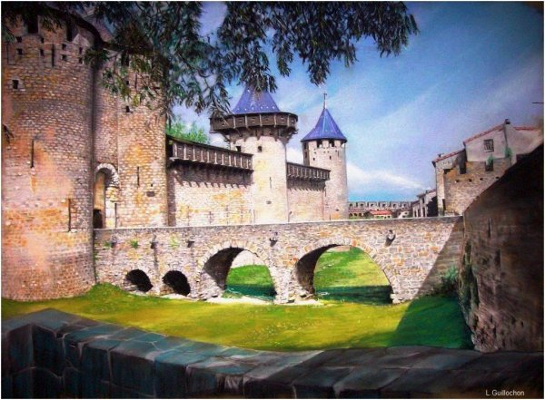 Hommage a Carcassonne