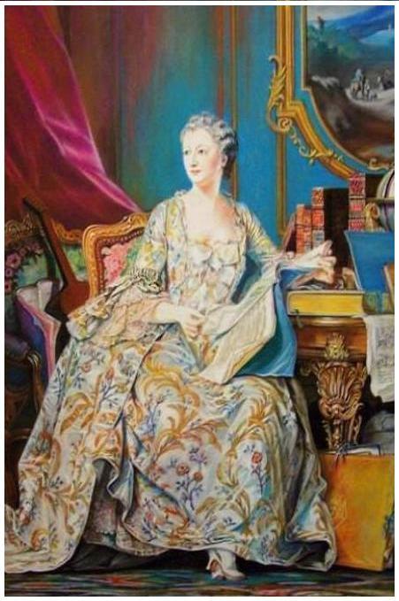 Voici la Marquise de Pompadour