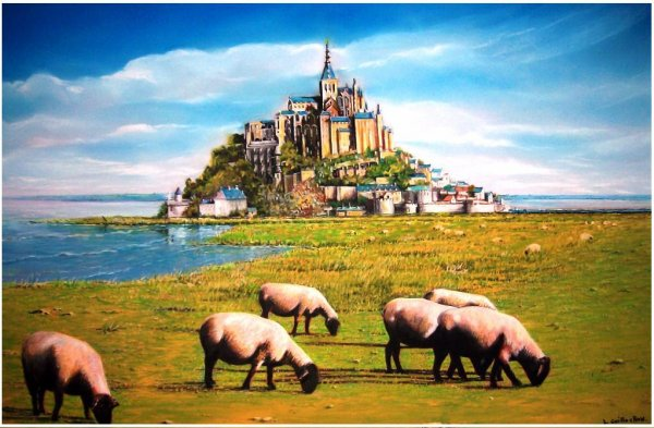 Le Mont St Michel Version finale
