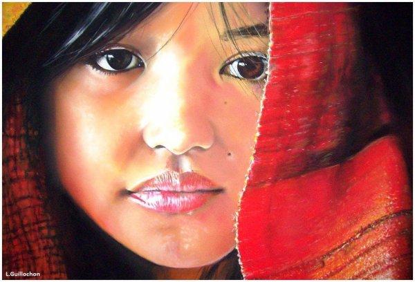 Portrait de la petite Peruvienne