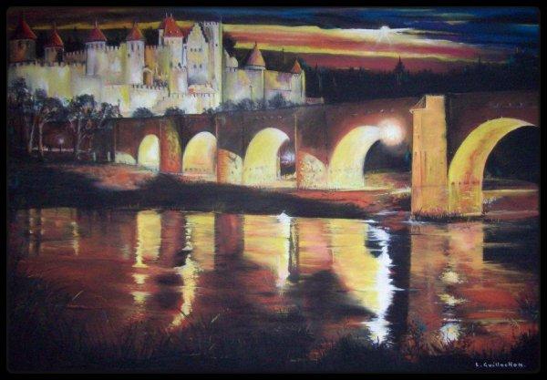 Carcassonne la nuit