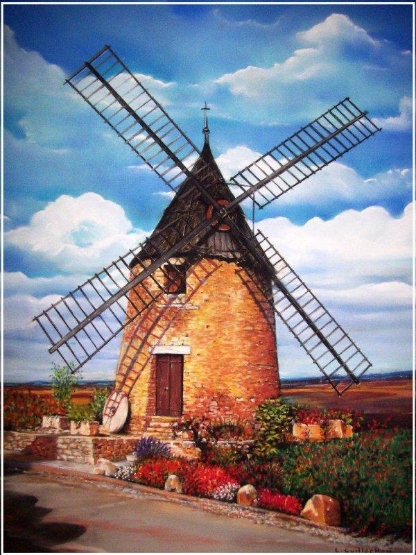 Le Moulin De Cugarel (Castelnaudary)
