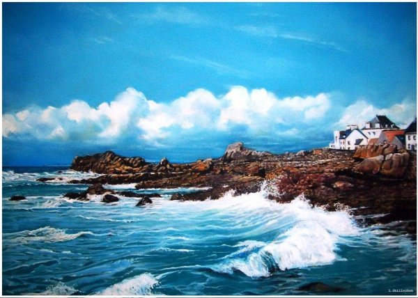 """Entre Ciel & Mer """" La Bretagne """""""