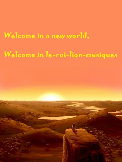 bienvuenue sur mon blog!
