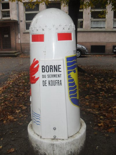 Liberation de Strasbourg 23/11/44 - Le char Zimmer -