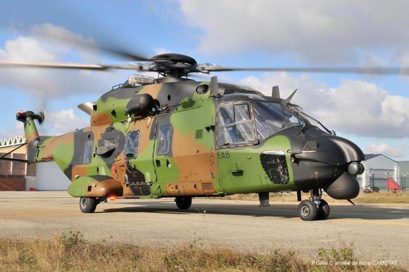 Le Caïman  le nouvel héicoptere NH - 90