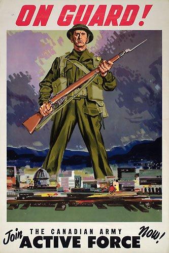 Canada  - Affiches de Guerre 2e guerre mondiale -