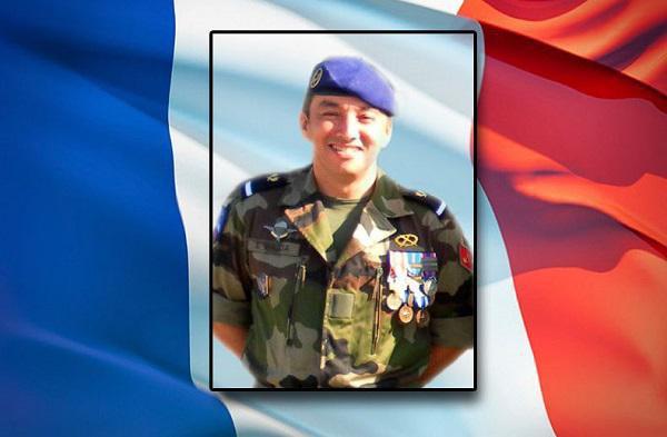 Adjudant Samir Bajja, mort en mission au service de la France au Burkina Faso.