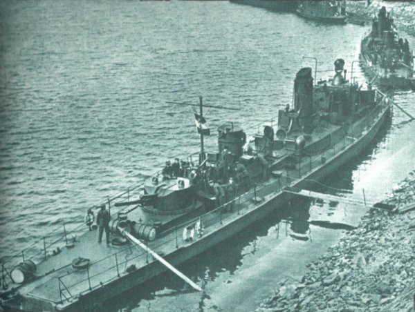 La flotte hongroise sur le Danube