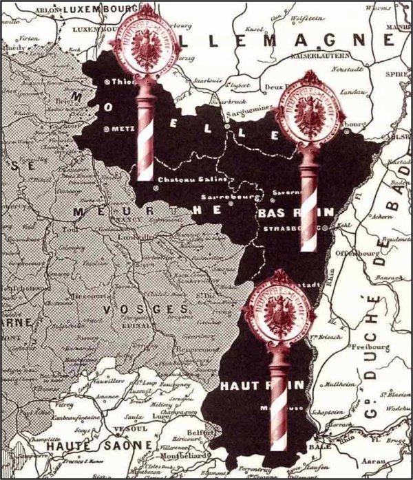 Libération Strasbourg 22/11/1918 - Libération Strasbourg 23/11/1944 - Serment de Koufra tenu