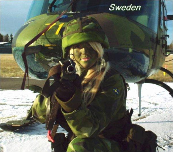 L'armée au féminin  Premiere partie