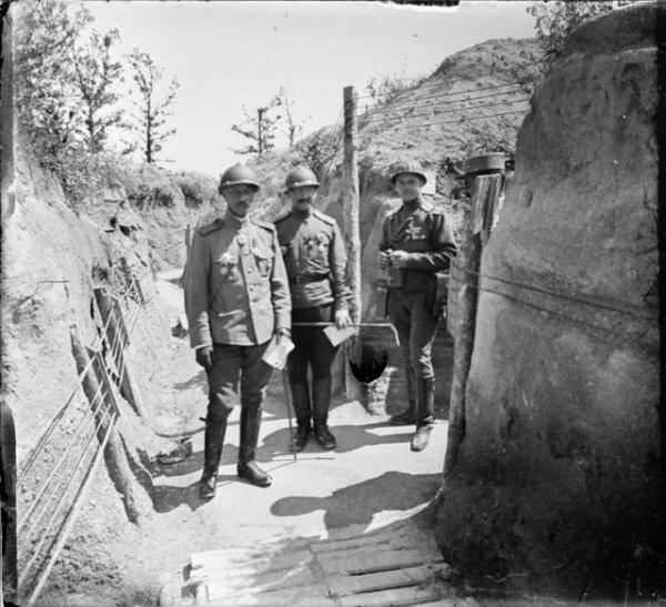 Soldats russes en France 1ere GM. 2e Série