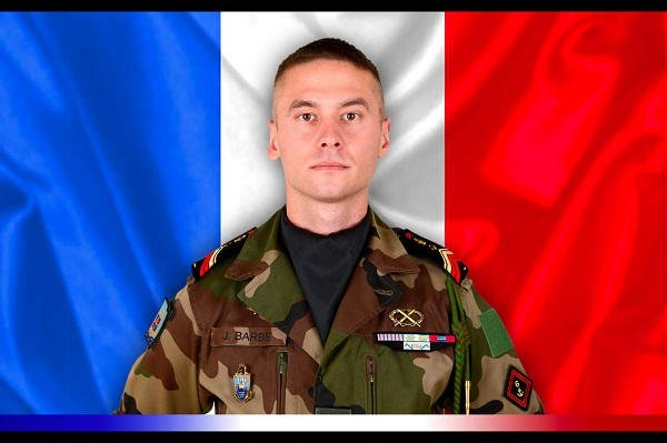 Caporal-chef Julien Barbé, du 6e Rgt du Génie d'Angers,mort pour la France . Honneur à lui