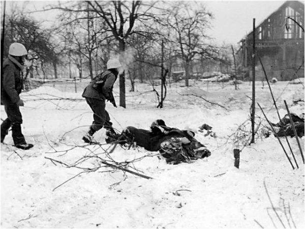 Combats de la Poche de Colmar et villages environs. Fin 44 - février 45. I ere Armée Francaise                            - 2eDB- 3e DIUS entre autres  s