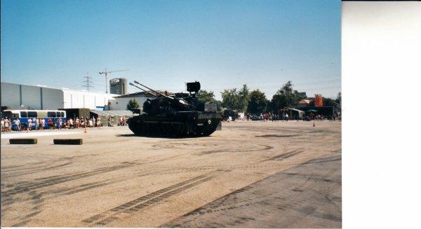 Portes ouvertes  Bundeswehr à Offenbourg  - Allemagne -  il y a quelques années