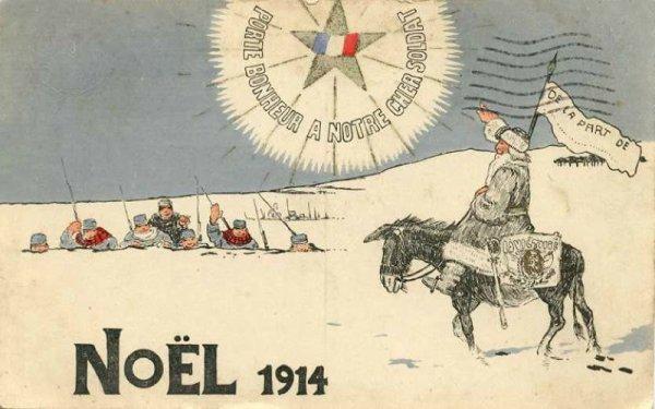 Noel dans  toutes  armées confondues 1ere GM