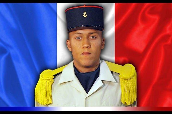 Guyane deces d'un s/officier lors d' une mission contre l' orpaillage .Alexandre Chan Ashing...