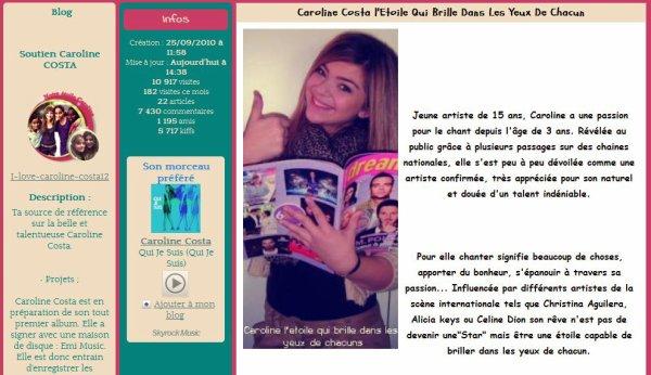Chloé, blog star du mois ♥