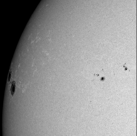 Enormes taches solaires 1302