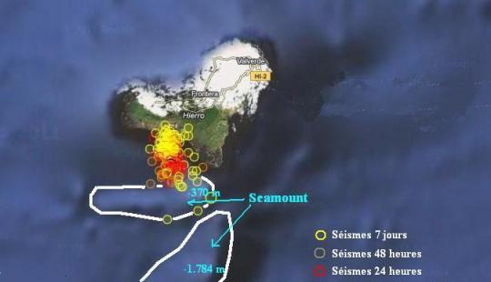 El Hierro, Îles Canaries : Le processus éruptif est engagé.