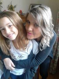 moi et ma nièce !