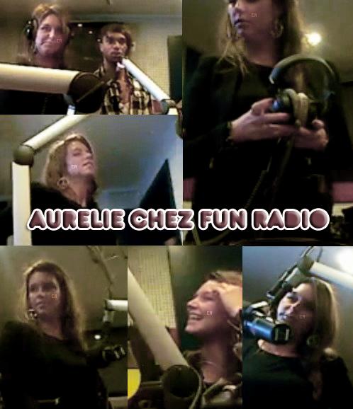 aurélie au you + photos fans + photos twitter + aurélie chez fun radio + vidéos