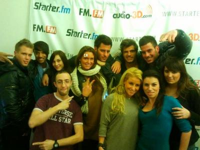 aurelie sur starterfm + photos du 17/11 + poses tes questions a aurélie!