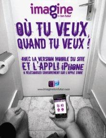 Imagine ton futur débarque sur ton mobile avec une application iPhone et un mobisite !