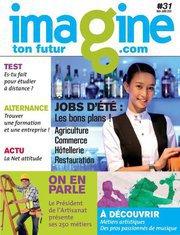 """Le nouveau numéro d'Imagine Ton Futur est arrivé : """" Spécial Job d'été : ces secteurs qui recrutent """""""