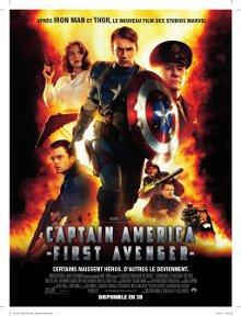 Gagne l'un des lots mis en jeu du film Captain America en salle le 17 août !