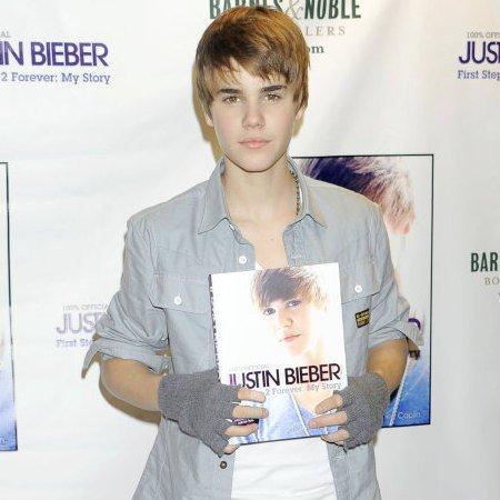 voilà encors justin qui porte son album !!!