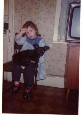 Un peu de moi quand j'étai petite