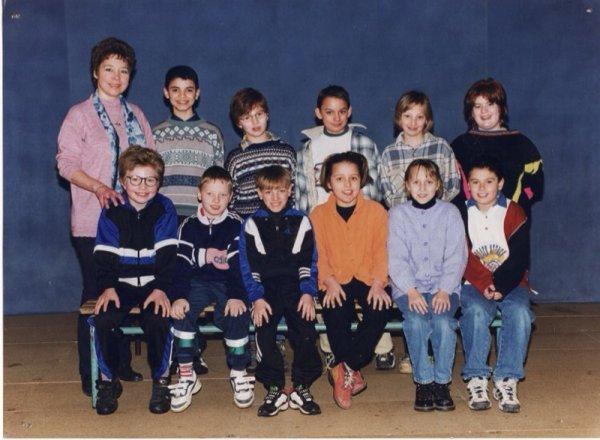 viélle photo de classe qui date de 1997