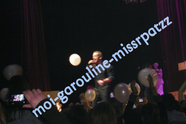 Photos du concert de Garou le 23/11/2010
