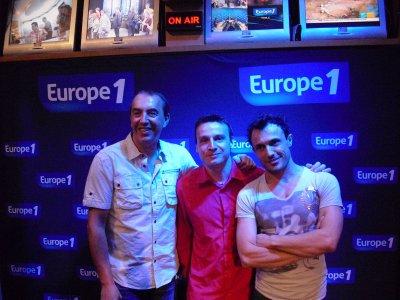 """LES PHOTOS: Toute l'équipe de MORANDINI sur EUROPE 1 """"Les Grands Médias"""""""