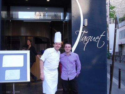 Avec David Fricaud Top Chef M6 c'est un ami et je suis son attaché de presse