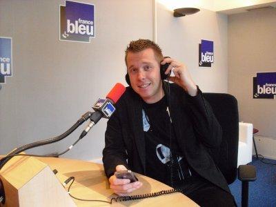 LES PHOTOS: Avec David Fricaud à RADIO FRANCE BLEU