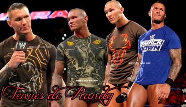 Tenues de Randy