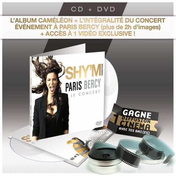 CD + DVD du concert a Bercy !