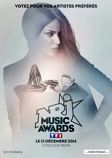Shy'm - Nomination NRJ Music Awards 2014.