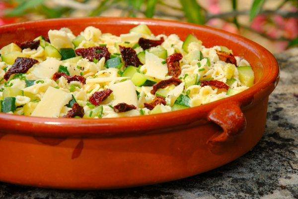 Salade de pâtes du printemps