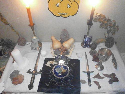 Joyeux Samhain (Fête aussi des défunts)