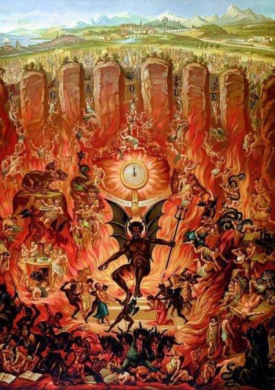 Les 9 Cercles de l'enfer