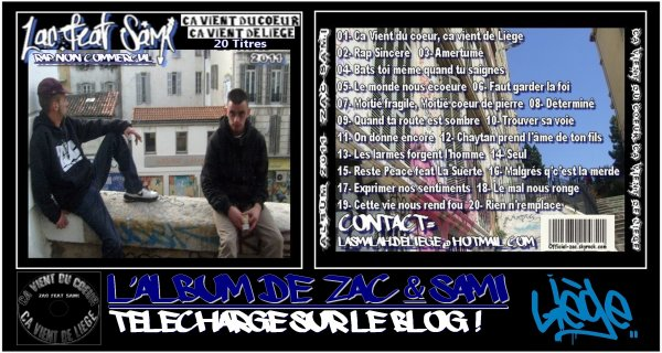 NOUVEAU ALBUM ZAC & SAMI 2011 ( La Smalah De Liège )