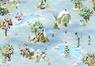 Amakna sous la neige!