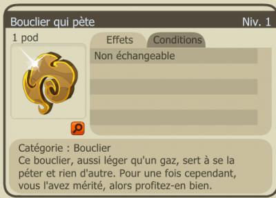 Bouclier du minotoboule (bouclier qui pete)