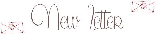 ✉ News Letter