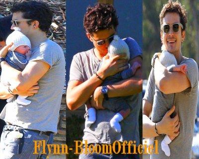 23 Janvier:  Flynn avec son papa