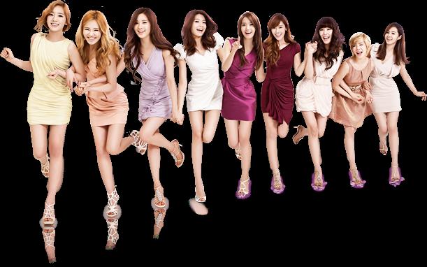 • Présentation du Groupe Girl's Generation •